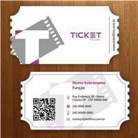 TICKET FILMS, Papelaria (6 itens), Marketing & Comunicação
