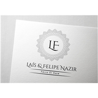 Laís e Felipe, Logo e Cartao de Visita, Artes, Música & Entretenimento