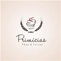 **Primícias - Paes e Tortas**, Logo, Alimentos & Bebidas