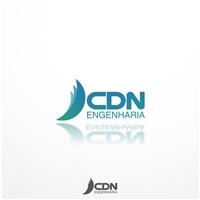 CDN Engenharia, Logo e Cartao de Visita, Construção & Engenharia