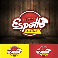 Espetto do Chef, Logo e Cartao de Visita, Alimentos & Bebidas