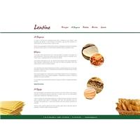 Massas Lentine, Logo em 3D, Alimentos & Bebidas