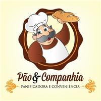 Pao & Companhia PANIFICADORA E CONVENIENCIA, Logo e Cartao de Visita, Alimentos & Bebidas