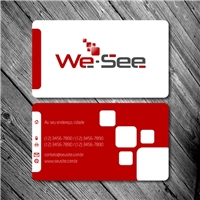We-See, Papelaria (6 itens), Marketing & Comunicação