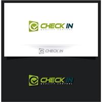 CHECK IN, Logo, Computador & Internet