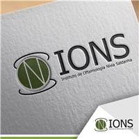 IONS :INSTITUTO DE OFTALMOLOGIA NIVIA SALDANHA, Logo, Saúde & Nutrição