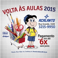 Volta as Aulas 2015, Kit Evento Web, Viagens & Lazer