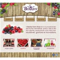 Berries Farm Store, Logo em 3D, Alimentos & Bebidas