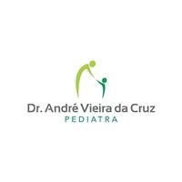 Dr. André Vieira da Cruz Pediatra, Logo e Cartao de Visita, Saúde & Nutrição