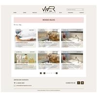Viver Organizer - Website, Embalagem (unidade), Decoração & Mobília