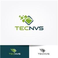 Tecnvs, Logo, Computador & Internet