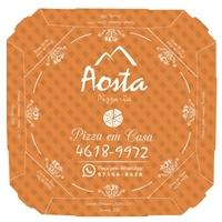 Embalagem - Caixa de Pizza - dois tamanhos, Cartaz/Pôster, Alimentos & Bebidas