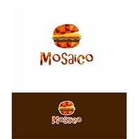 Mosaico lanches, Logo e Cartao de Visita, Alimentos & Bebidas