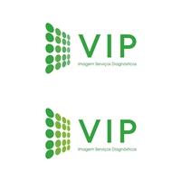 VIP Imagem Serviços Diagnósticos, Logo e Cartao de Visita, Saúde & Nutrição