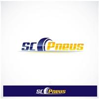 Logo para site SC Pneus, Logo, Computador & Internet