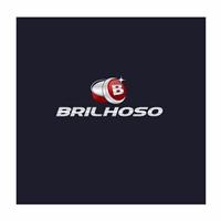 Brilhoso, Logo e Cartao de Visita, Computador & Internet