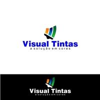 Visual Tintas, Logo, Construção & Engenharia