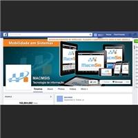 Capa para o Facebook, Manual da Marca, Computador & Internet