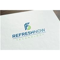 reFre5h now, Logo, Computador & Internet