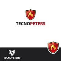 TECNOPETERS, Logo e Cartao de Visita, Construção & Engenharia
