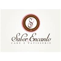 Sabor & Encanto Cake e Patisserie, Logo, Alimentos & Bebidas