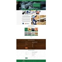 BANDEIRANTES empreendimentos, Logo em 3D, Construção & Engenharia