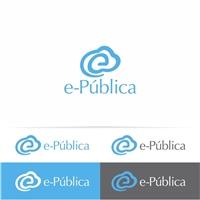 Logomarca e-Pública, Logo, Computador & Internet