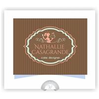 Nathallie Casagrande (Peço que me ajudem na extensao, cakes e etc :)), Logo e Cartao de Visita, Alimentos & Bebidas