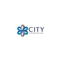 Comercial CITY, Logo, Logística, Entrega & Armazenamento