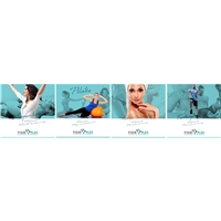 Clinica de fisioterapia Fisio Plus, Peça Gráfica (unidade), Saúde & Nutrição