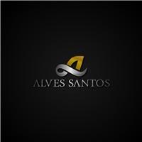 Alves Santos - Advocacia, Logo, Advocacia e Direito