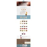 Empório do Macaron, Logo em 3D, Alimentos & Bebidas