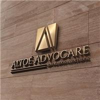 Altoé Advocare Advogados Associados., Logo e Cartao de Visita, Advocacia e Direito