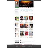 Rede Social Music4box, Logo em 3D, Música