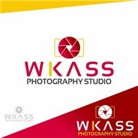 WKass Photography Studio, Logo e Cartao de Visita, Artes, Música & Entretenimento