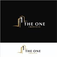 The One Imóveis, Logo e Cartao de Visita, Imóveis