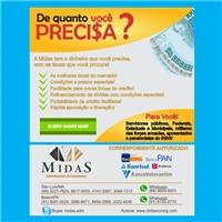 Newsletter Midas, Cardápio, Contabilidade & Finanças