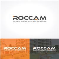 ROCCAM Construtora e Incorporadora, Logo, Construção & Engenharia