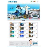 Lula Sam (Ramo\Seguimento: Turismo e Eventos), Embalagem (unidade), Viagens & Lazer