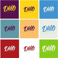Dido Gelato, Logo, Alimentos & Bebidas