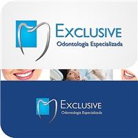 EXCLUSIVE - Odontologia Especializada, Logo e Cartao de Visita, Saúde & Nutrição