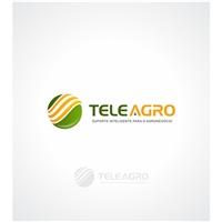TeleAgro - Consultoria no Agronegócio, Logo e Cartao de Visita, Metal & Energia