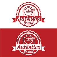 autêntico brasil, Logo e Cartao de Visita, Alimentos & Bebidas