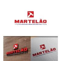 Martelão Ferramentas e Materiais Elétricos, Logo e Cartao de Visita, Construção & Engenharia