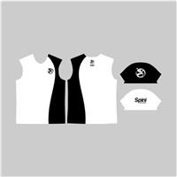Camiseta semelhante a B1 equipe, porém preta, com o símbolo invertido., Ajuste de Arte - Até 1 hora, Viagens & Lazer