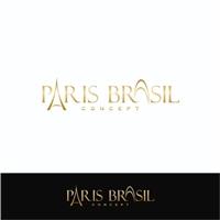 Paris Brasil Concept, Logo e Cartao de Visita, Roupas, Jóias & Assessorios