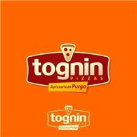 Purga Lanchonete e Pizzaria / Tognin Pizzas, Logo e Cartao de Visita, Alimentos & Bebidas