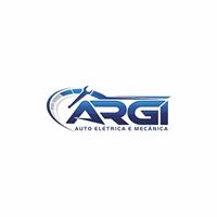 Argi Auto Elétrica e Mecânica, Logo e Cartao de Visita, Automotivo