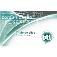 BTL Conteúdo e Comunicação, Nome + Slogan, Marketing & Comunicação