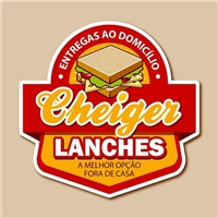 Cheiger Lanches, Logo e Cartao de Visita, Alimentos & Bebidas